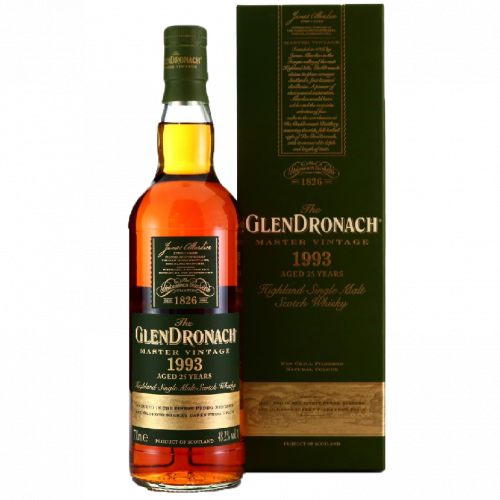 The GlenDronach 25 Year Old 1993  Master Vintage