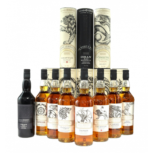 Game Of Thrones Single Malt Full Collection