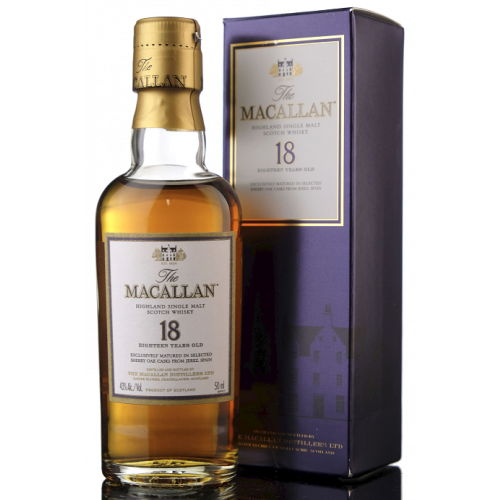 Macallan 18 Year Old Sherry Cask Miniature