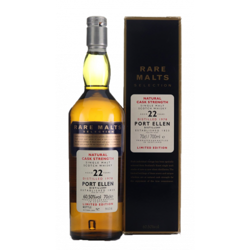 Port Ellen 1978 22 Year old Rare Malts Selection