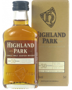 Highland Park 30 Years Old Single Malt Miniature 5cl