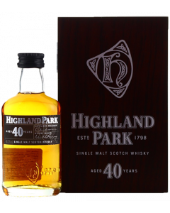Highland Park 40 Years Old Single Malt Miniature 5cl