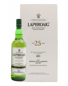 Laphroaig 25 Year Old The Bessie Williamson Story 2019