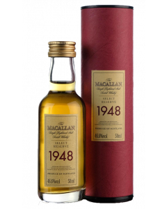 Macallan 1948 Select Reserve 51 Years Old Miniature