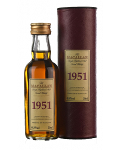 Macallan 1951 Select Reserve 49 Years Old Miniature