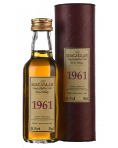 Macallan 1961 Select Reserve 40 Years Old Miniature